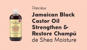 Opinión Jamaican Black Castor Oil Champú de Shea Moisture