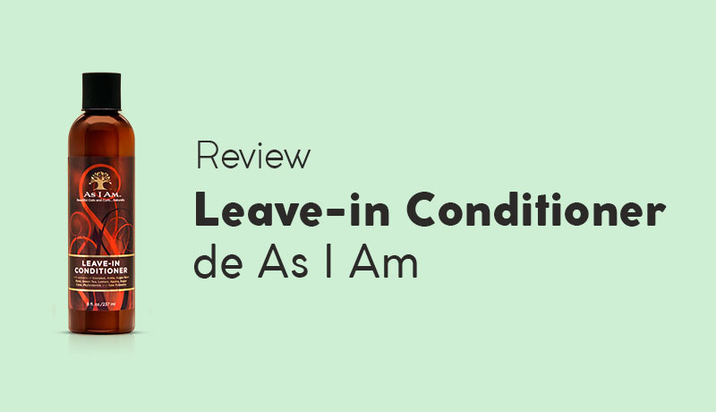 Opinión As I Am Leave-in Conditioner
