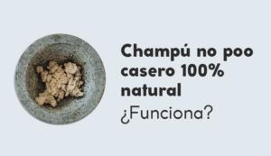 Champú natural casero 100% natural