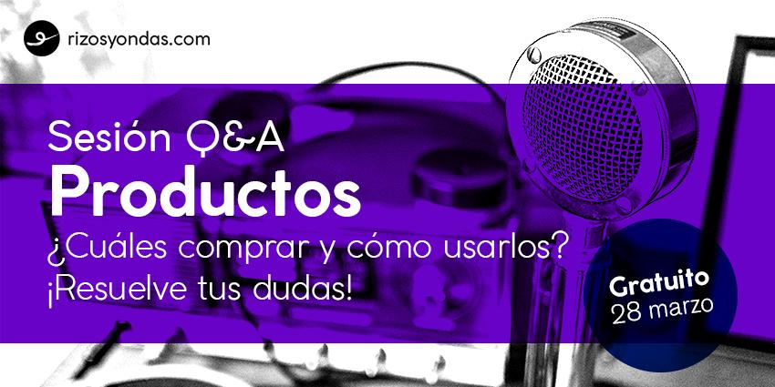 Sesión Q&A Productos
