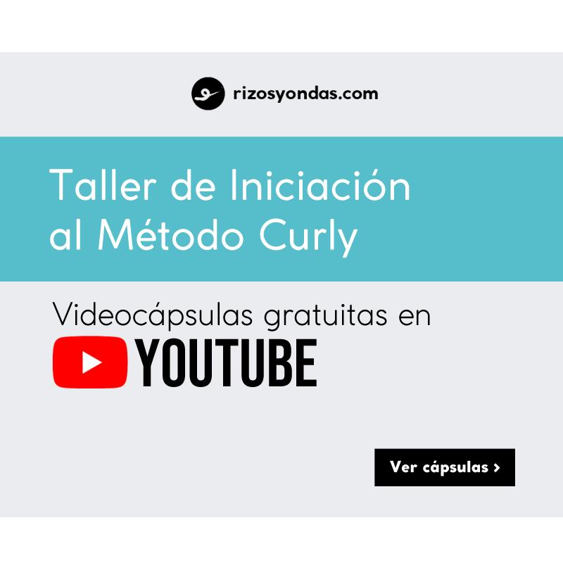 Curso Método Curly en Youtube para pelo rizado